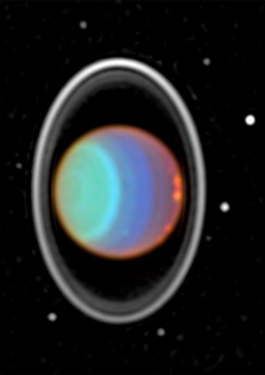 uranus hubble telescope - 605×795